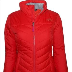 The North Face woman's Red Wander insulated jacket